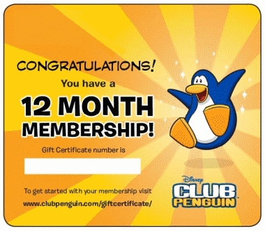 Club penguin free membership | free club penguin membership and.
